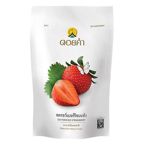 泰國必買「皇家果乾」國家級特產 -草莓 140g/包✈