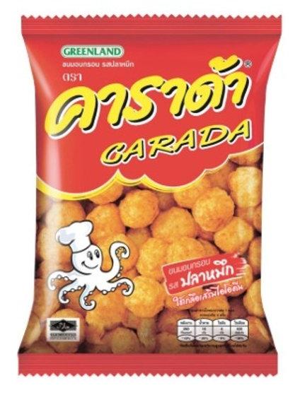 泰小食-Carada  烤魷魚泰式乖乖- 67g