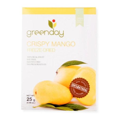 泰國必買 Greenday凍脆蔬果乾-芒果 25g