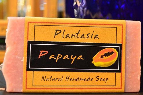 【泰好用】Plantasia 泰產手工天然肥皂-食材類-木瓜 110g  5%±