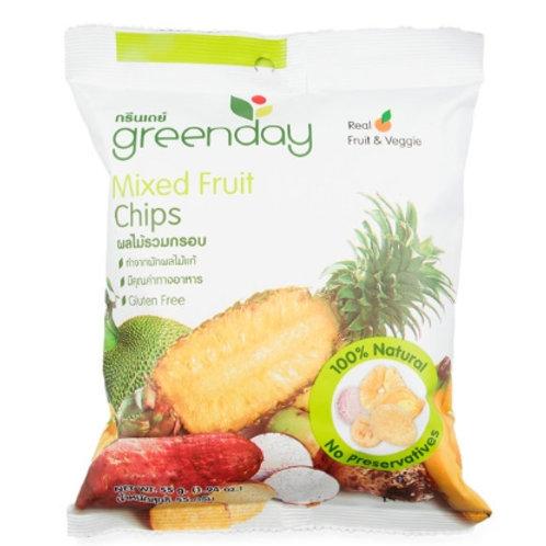 泰國必買 Greenday凍脆蔬果乾-綜合蔬果 55g