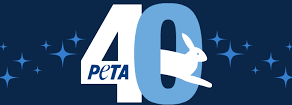 PETA's 40th anniversary, Donation from The Healing Hut