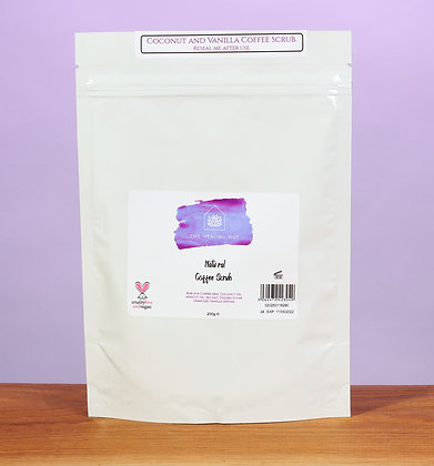 Coconut Coffee Body Scrub