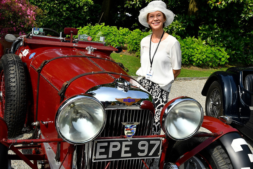 Me and the beautiful LAGONDA LG45 RAPIDE (1936) belonging to Andreas Pohl