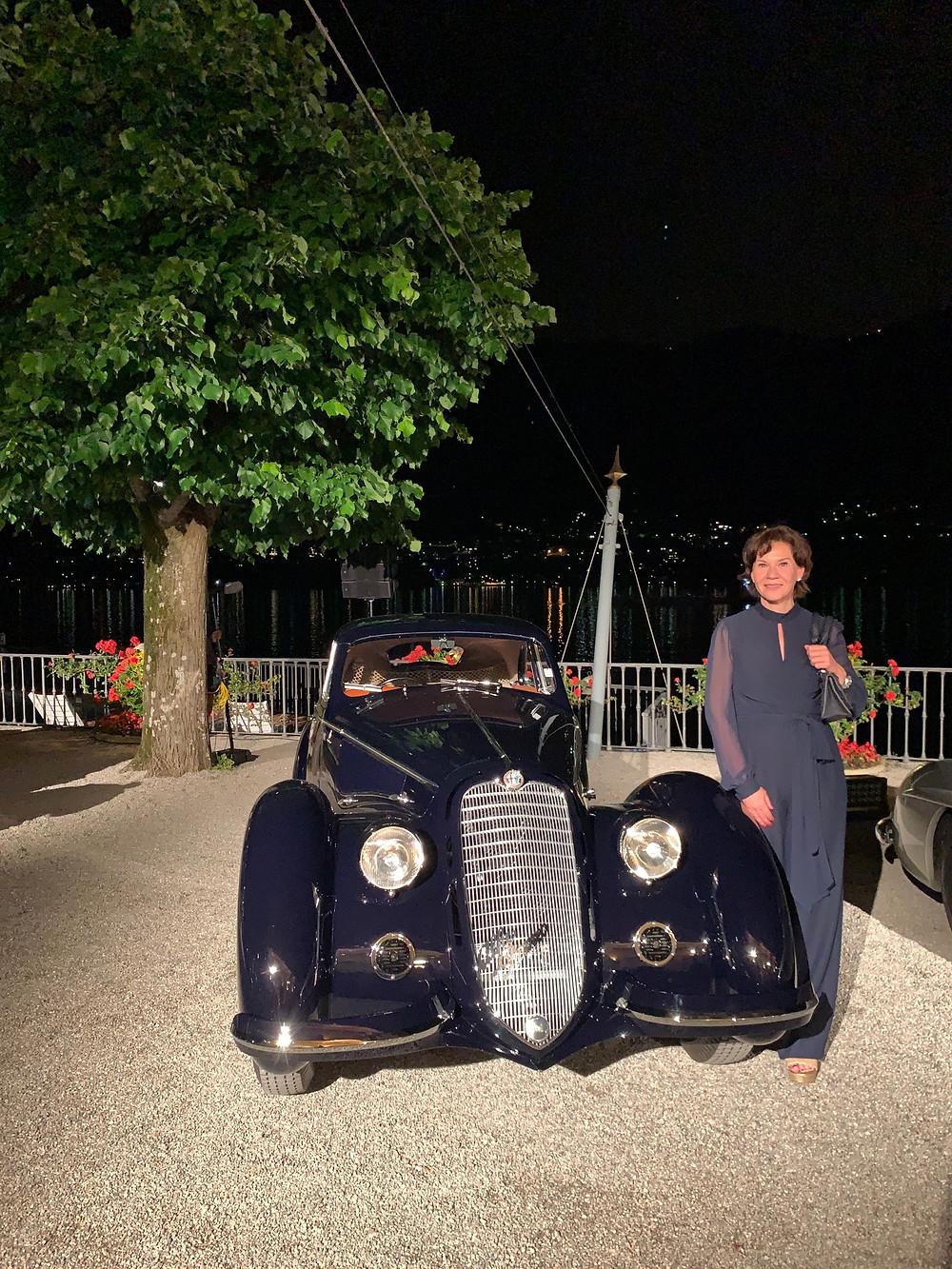 Alfa Romeo 8C 2900 B , 1937 that won best in Show in Pebble Beach 2018. well done!
