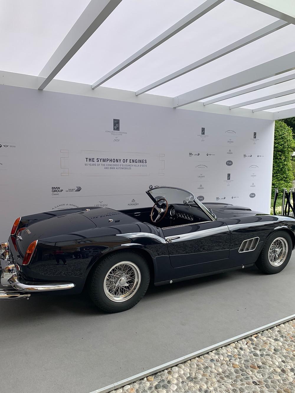 1961 Ferrari 250 GT California Spyder SWB, ex Alain Delon, ex Baillot