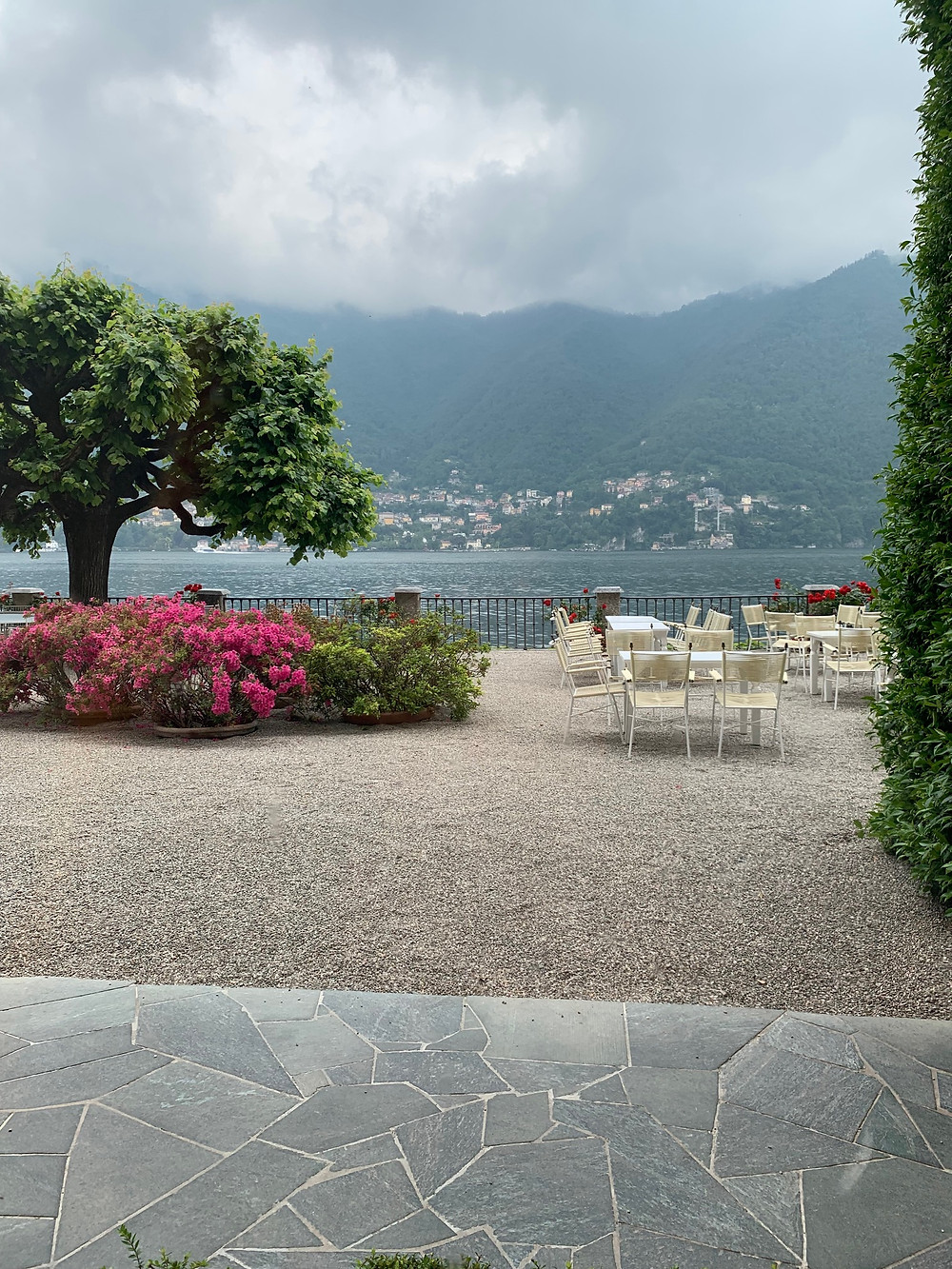 Clouds over Lake Como