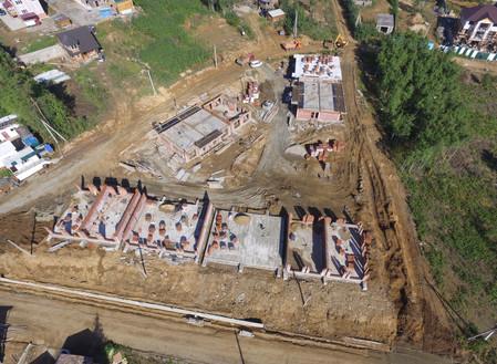 Стадия строительства 19 очередь Сентябрь 2016