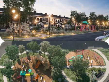 Поселок Ecoville будет озеленен на 65%
