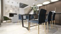 Дизайн интерьера таунхауса 120 кв.м от студии Perfecto