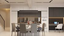 Дизайн интерьера дуплекса 80 кв.м. с мансардой в микрорайоне «Хрустальный парк» от студии МЕТОД