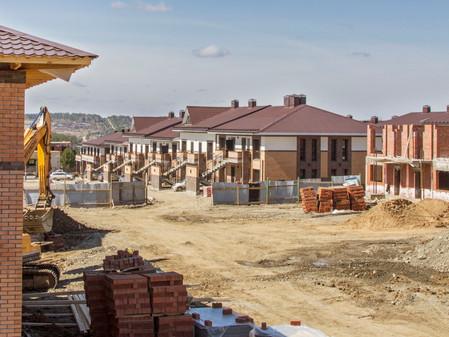 Стадия строительства EcoVille - май 2018