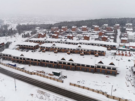 Стадия строительства EcoVille - декабрь 2017
