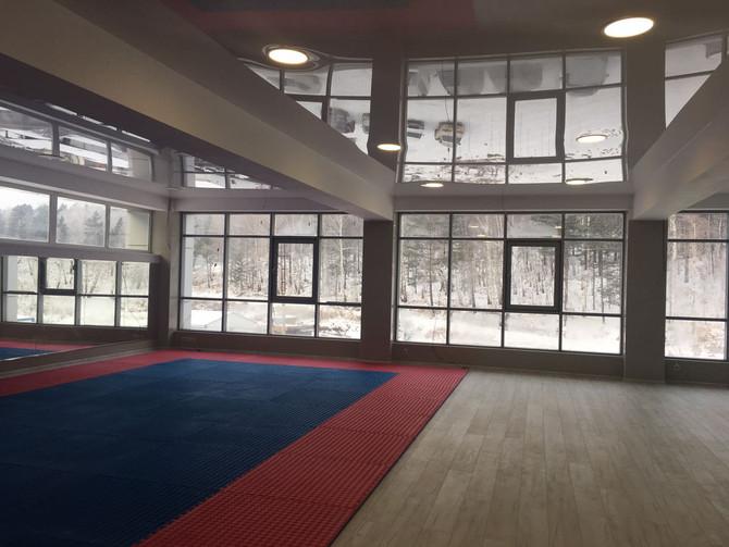 Спортивный зал готов!