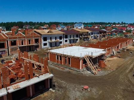 Стадия строительства EcoVille - июнь 2017