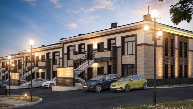 """Квартира 40 кв.м. в коттеджном поселке """"EcoVille"""" 1 448 565 руб."""
