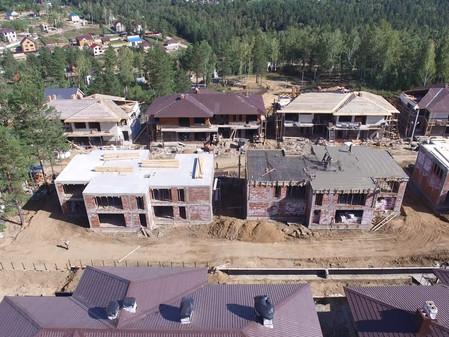 Стадия строительства Виллетов Август 2016
