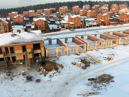 Стадия строительства EcoVille - декабрь 2016