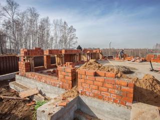 Этап строительства поселка AURA