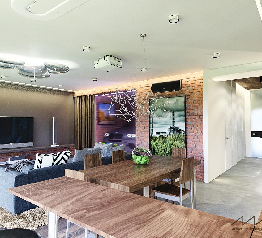 16 гостиная+гараж