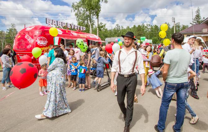 Загородный фестиваль в итальянском стиле прошел в Хрустальном в эти выходные.