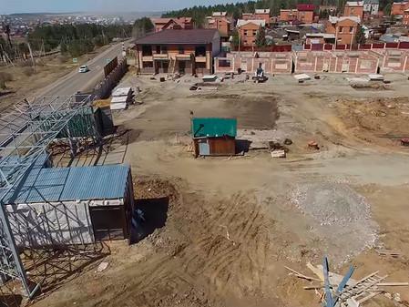 Стадия строительства EcoVille - апрель 2017