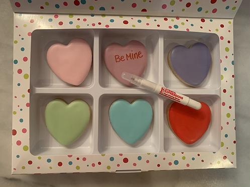 DIY conversational heart kit