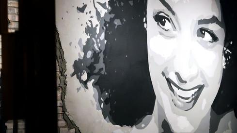 Graffiti Restaurant Wall Art