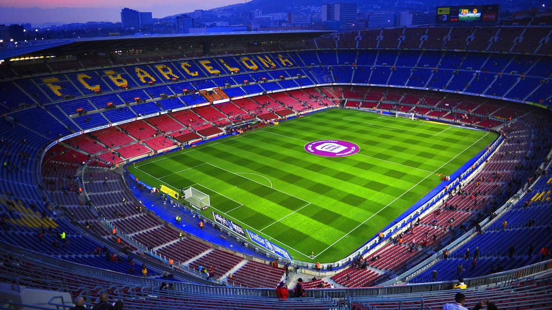 FBC Camp Nou Stadium graffiti