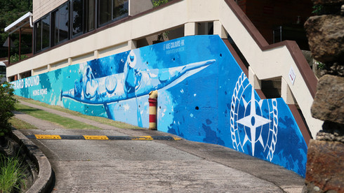 Graffiti Sport Facilities Wall Art