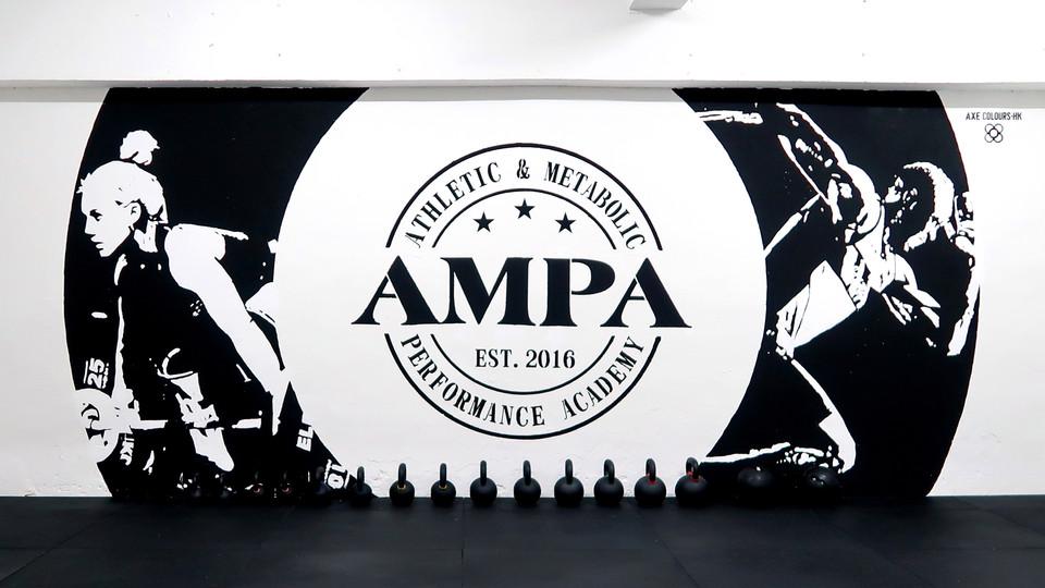 Graffiti Fitness Wall Art
