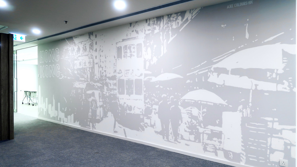 Office Mural Painting