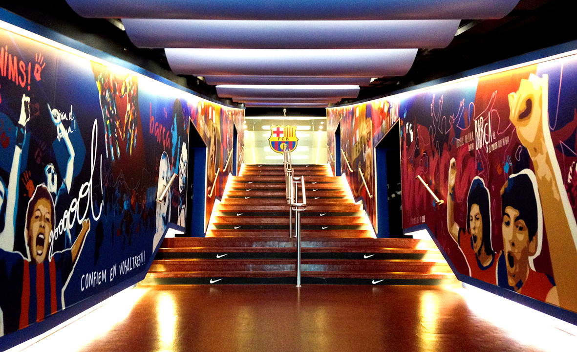 FBC Camp Nou Stadium