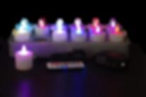 LAMP LED pour professionnel, Lampe de table sans fil rechargeable, Cordless Lamp, ECLAIRAGE LED sans fil pour PARASOL