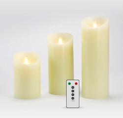 Kit 3 bougies IVOIRES