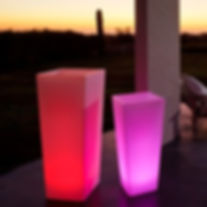bougies led, menus lumineux, lampe outdoor sans fil, mobilier outdoor, lampe abat-jour, menus LED, lampe de table, lampe sans fil, bougie électrique, candle, lampe autonome, lampe rechargeable, photophores à LED, éclairage à led rechargeable, mobilier led