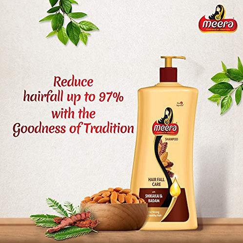 Meera Shikakai & Badam Shampoo(Hair Fall Care) - 500ml