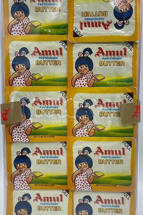 Amul Butter Blister Pack -10pcs/10g
