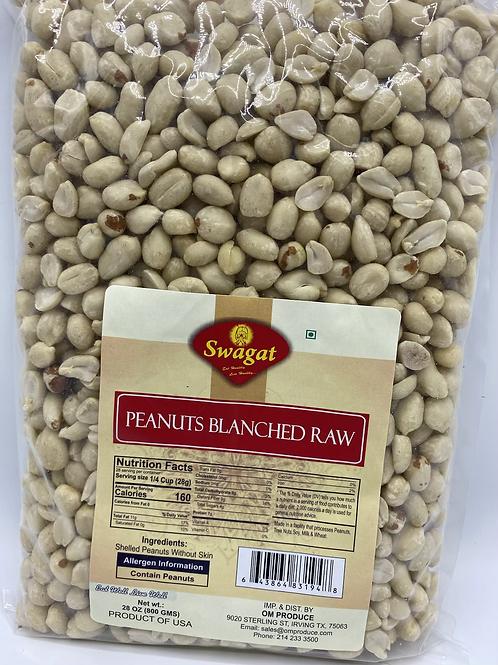 Swagat Peanut Blanched Raw - 28oz/800 gm