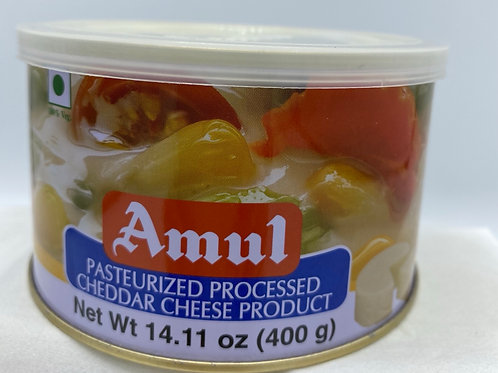 Amul Cheddar Cheese Tin (Pasteurized) - 14.11oz/ 400g