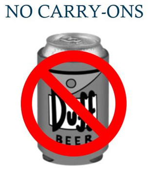 No Carry-Ons Allowed