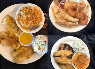 Kitchen Open Daily... Try our Fantastic Fish Fry!