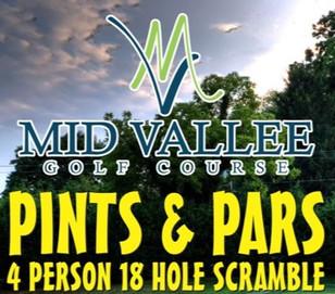 Pints & Pars - Saturday, May 8th - noon shotgun