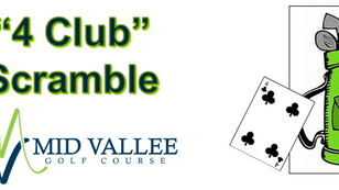 September 18th 4pm - Couple's Experience - 4 Club Scramble