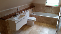 Travertine Bathroom