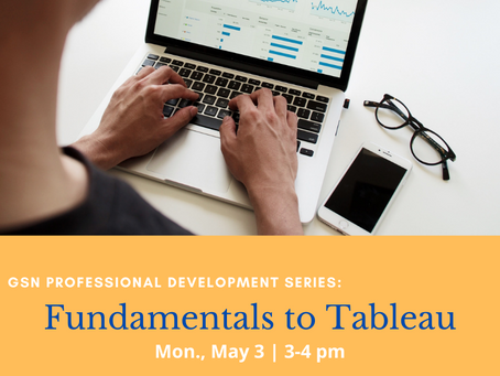 Workshop: Fundamentals to Tableau