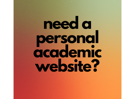 Need an academic website?
