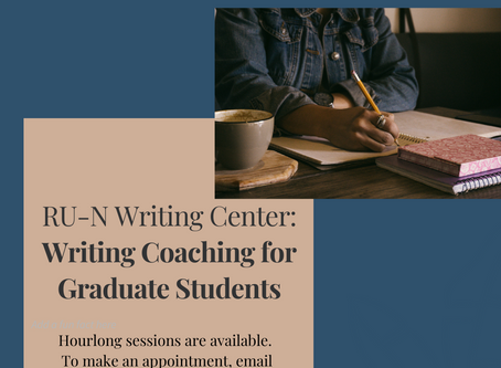 Writing Coaching for Graduate Students