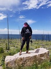 Nakeefa at Yellowstone Lake.jpg