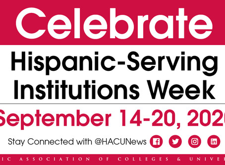 APPLY: Internship & Scholarships at the Hispanic Association of Colleges and Universities (HACU)